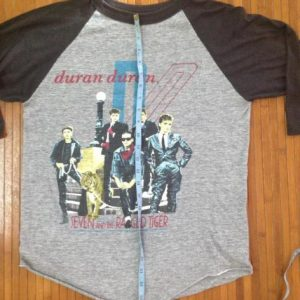 vintage duran duran 1984 shirt
