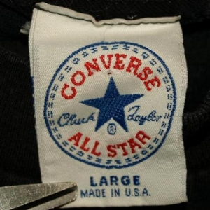 Vintage 80s/90s Converse Chuck Taylor Embroidered T-shirt