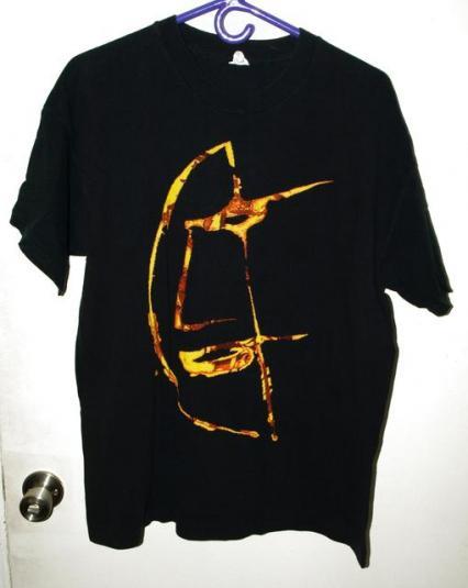 Vtg 90s Peter Murphy Mr Moonlight Concert Tour T-shirt