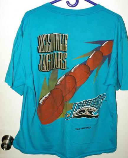 Vintage 90s Competitor Jacksonville Jaguars Graphic T-shirt