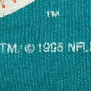 Vintage NFL 90s Dynasty Miami Dolphins T-shirt