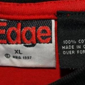 Vintage 90s Chicago Bulls V-Neck Jersey T-shirt