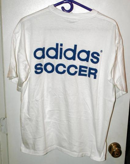 Vintage 1993 Adidas US Cup Soccer/Football Staff T-shirt