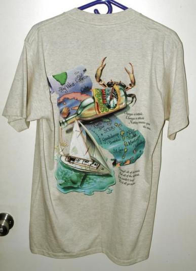 Vtg Deadstock Caribbean Soul Changes in Latitude T-shirt