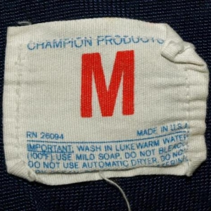 Vtg 70s/80s Champion Products Notre Dame Jersey Shirt