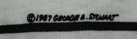 Vtg 80s/90s George Stewart Fish Heads Personalities T-shirt