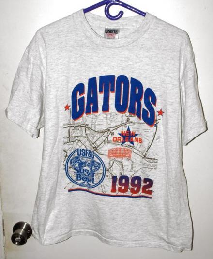 Vintage 1992 Univ Florida Gators Sugar Bowl T-shirt