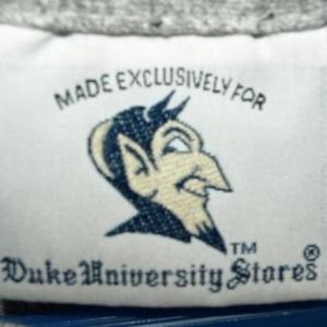 Vintage 90/10 Cotton Rayon Duke Blue Devils T-shirt