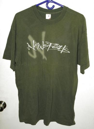 Vintage 90s Newsboys Shine Concert Tour T-shirt