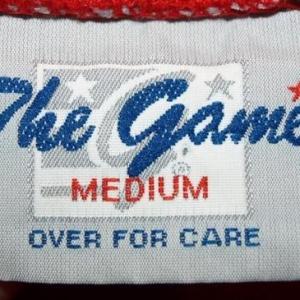 Vintage The Game Washington Bullets Logo T-shirt