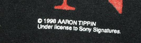 Vtg 90s Aaron Tippin Greatest Hits Tour Concert T-shirt
