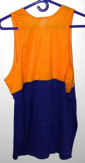 Vtg 80s/90s 50/50 Los Angeles Lakers Tank Top Muscle Shirt