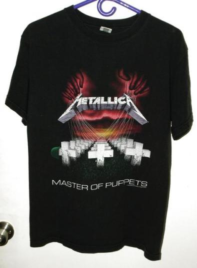 Vintage 90s Metallica Master of Puppets Repro T-shirt