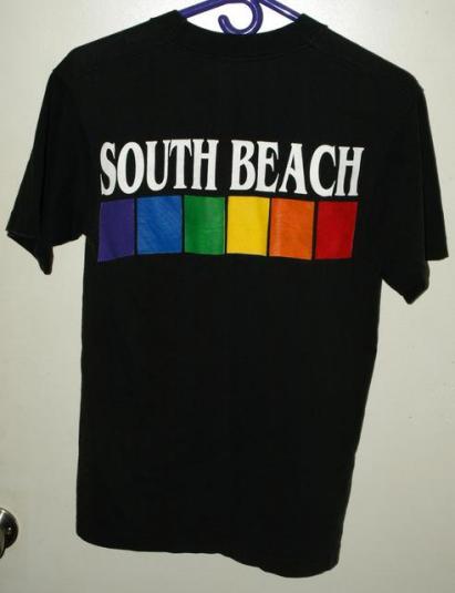 Vintage 90s South Beach Miami Florida Tourist T-shirt