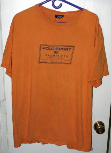 Vtg Ralph Lauren Polo Sport Explorers Travellers T-shirt