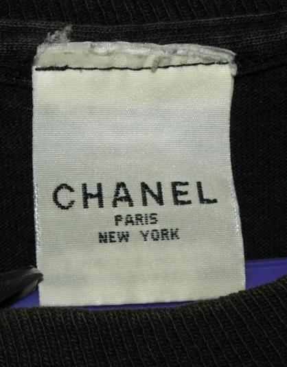 Vintage 90s Chanel Egoiste Promo T-shirt