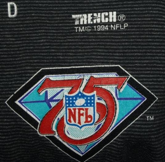 Vintage 90s Houston Oilers 75th Anniversary NFL T-shirt