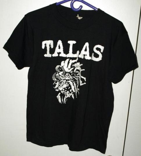 Vtg 80s 50/50 Talas Sink Your Teeth Into That T-shirt