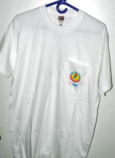 Vtg 1997 Virginia Slims Legends Tour Womens Tennis T-shirt