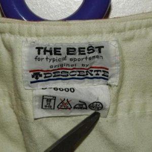 Vtg 60s/70s Best Descente Kimitaku Japanese Baseball Jersey