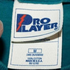 Vintage Pro Player Miami Dolphins Dan Marino QB Club T-shirt