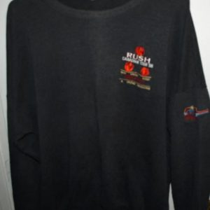 Vintage 1988 Rush Hold Your Fire Tour/Concert Sweater