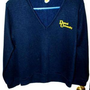 70's/80's Velva Sheen 50/50 Creslan/Rayon Drexel Sweater