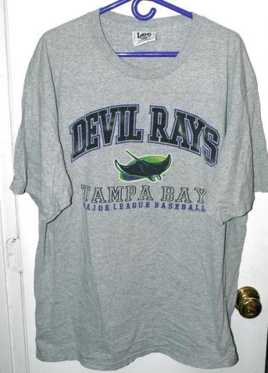 Vintage Lee Tampa Bay Devil Rays First Season T-shirt
