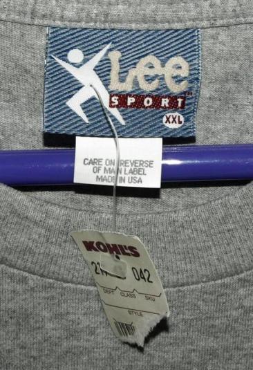 NWT Vtg 90s Lee Sport Green Bay Packers Brett Favre T-shirt