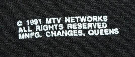 Vtg 90s MTV Networks Ren & Stimpy Show T-shirt