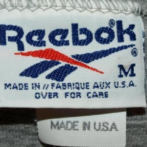 Vintage Reebok Half/Midriff Baring Exercise T-shirt