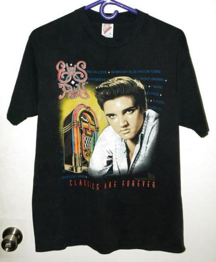 Vtg 90s Elvis Presley Classics Are Forever T-shirt