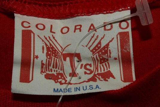 Vtg NWT USPS Elvis Presley Return To Sender Stamp T-shirt