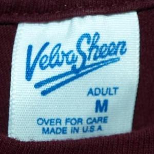 Vintage Velva Sheen UMass Minutemen Football T-shirt