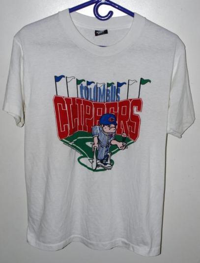 Vintage 90s Columbus Clippers Minor League T-shirt
