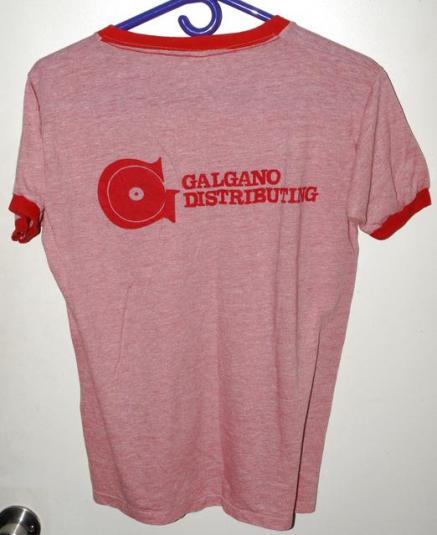 Vtg 80s Billy Squier Dont Say No Album Promo Ringer T-shirt