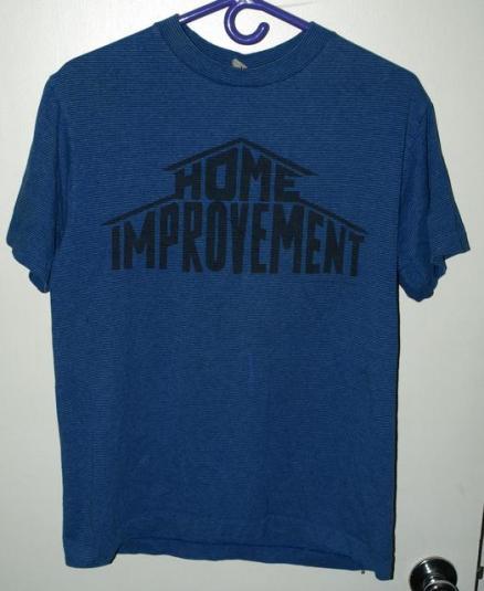Vtg 90s Disney Home Improvement Tool Time TV Show T-shirt