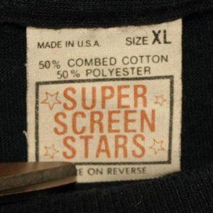 Vtg Super Screen Stars Yves Saint Laurent Promo T-shirt