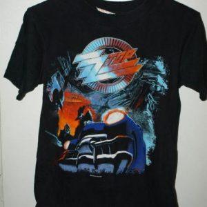 Vintage 90s ZZ Top Recycler World Tour/Concert T-shirt
