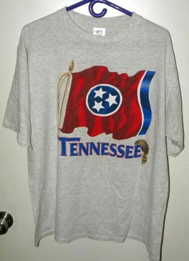 Vintage 90s Belton Tennessee State Flag T-shirt