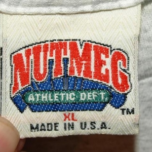 Vintage Nutmeg Tampa Bay Area Loves The Giants T-shirt
