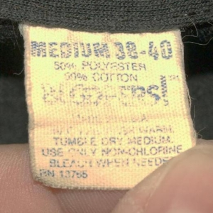 Vintage 80s 50/50 Milwaukee Iron Since 1903 T-shirt