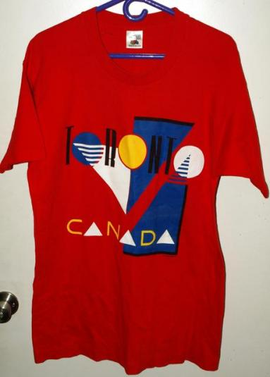 Vintage 90s Oh Yes Toronto Canada Graphic T-shirt