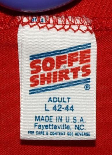 Vtg 50/50 Statue of Liberty Centennial 1886-1986 T-shirt