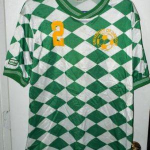 Vintage Umbro University Oregon Ducks Soccer Football Jersey