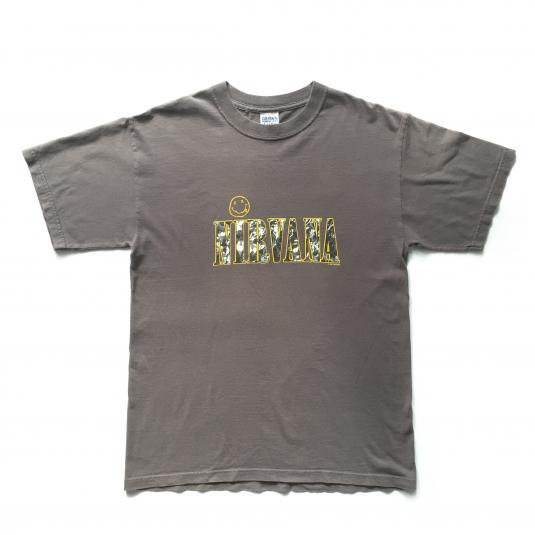 1997 Nirvana Basic Logo T-shirt