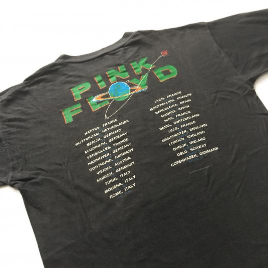 1987 Pink Floyd 'A Momentary Lapse of Reason' Tour T-Shirt