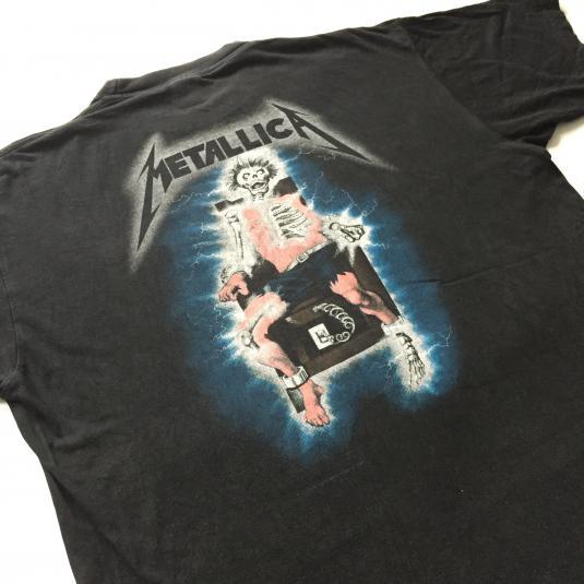 1994 Metallica 'Ride the Lightning' T-Shirt