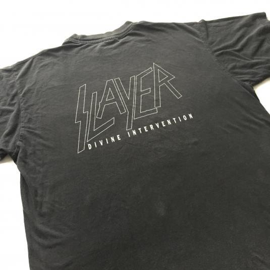 1994 Slayer 'Divine Intervention' T-shirt