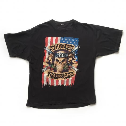 1992 Guns 'n' Roses Flag G'n'f'n'R Tour T-shirt